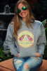 1. May All Beings Be Released From Suffering Sweatshirt Grey