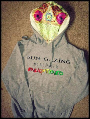 1. May All Beings Be Enlightened Sweatshirt Grey