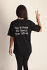 1. May All Beings Be Released From Suffering Tee - Black