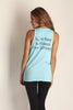 1. May All Beings Be Released From Suffering Tank Top - Blue