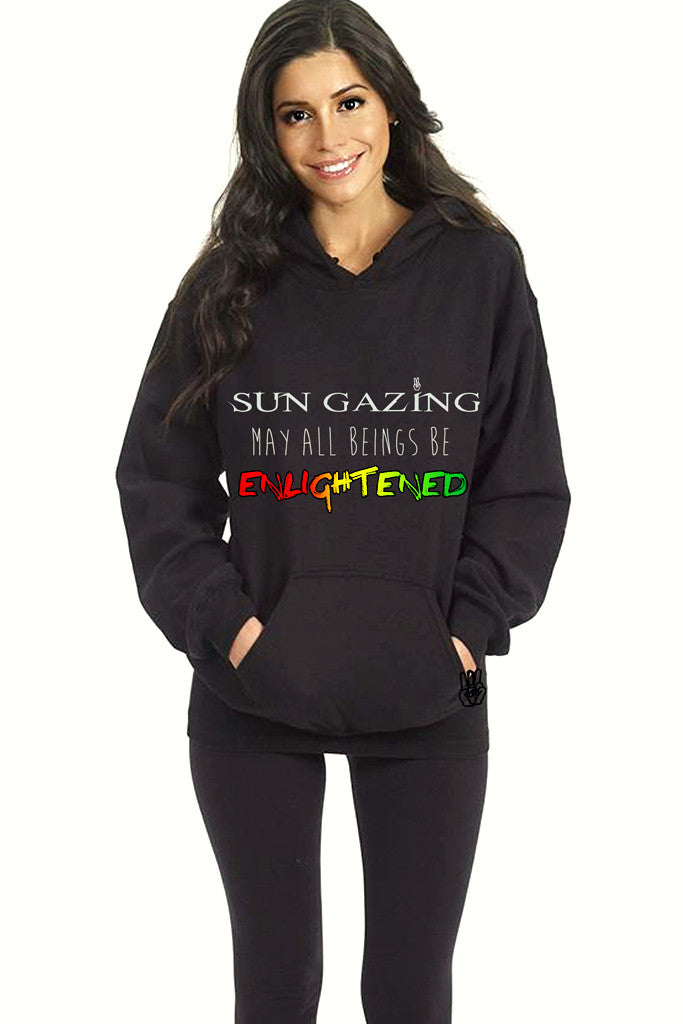 1. May All Beings Be Enlightened Sweatshirt Black