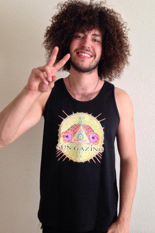 1. May All Beings Be Released From Suffering Tank Top - Black