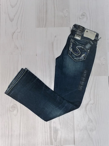 Silver Assorted Bootcut Stitch