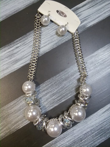 Giant Pearl Statement Necklace