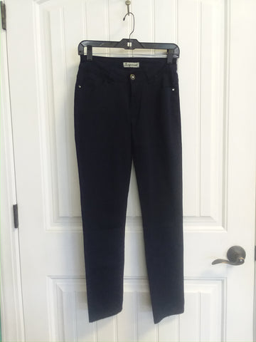 Lavie Emperial Skinnies in Dark Blue Size 5