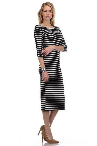 Felicity Striped Dress