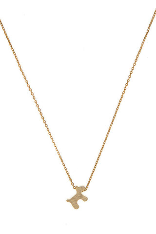 Puppy Love Gold Necklace