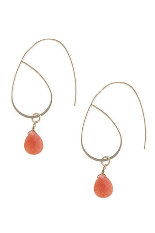 Ringing Coral Earrings