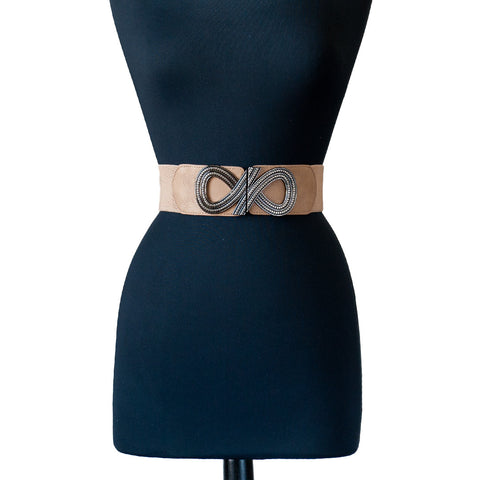 Loop-D-Loop Beige Belt