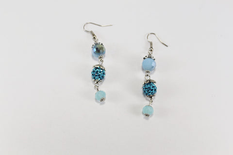 Snow Queen Earring Light Blue