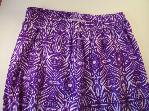 Purple Lace Leggings