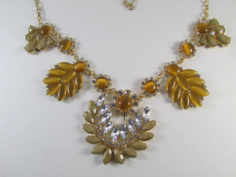 Mustard Cleo Necklace