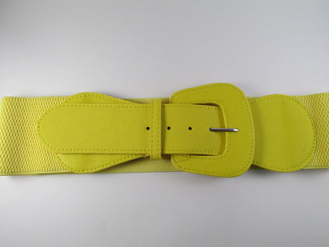 Yellow Classic Fashion Belt