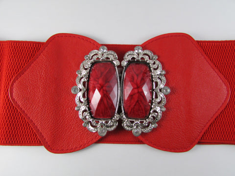 Red Princess Diana Belt
