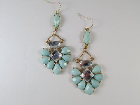 Sadie Earrings Mint