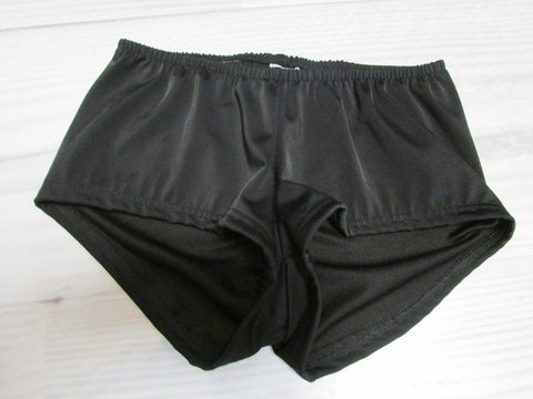 Body Sculpting Cheeky Short Black