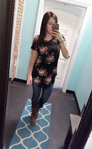 Haley Floral Tunic
