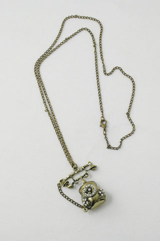Old Fashion Phone Necklace