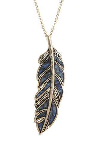 Shell Accent Feather