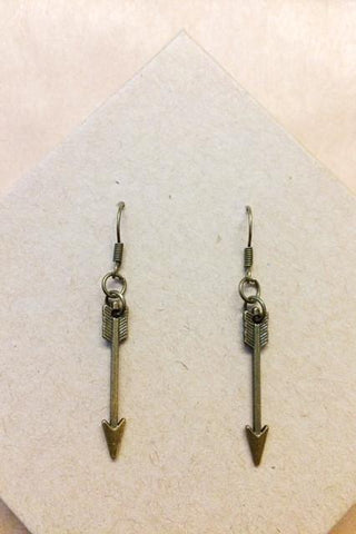 Delicate Arrow Earrings