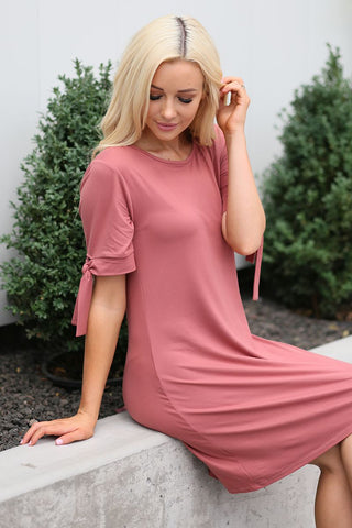 Tara Tie Swing Dress