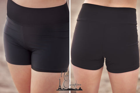 Body Sculpting Swim Shorts Black