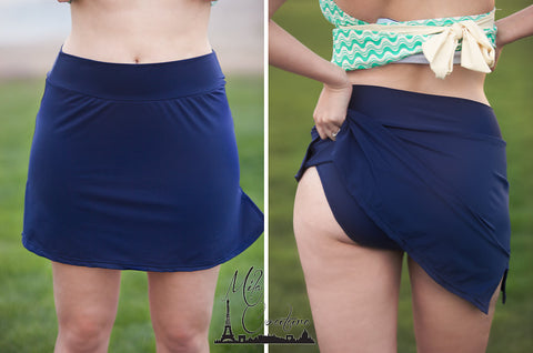 Body Sculpt Skort Blue