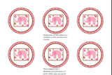 EVENT KIT Baby Shower Kit (Invite, Meal Plan, Recipes, Games, Labels, Favor Tags and more) - Pink Elephant Theme (49 pages) INSTANT DOWNLOAD Printable