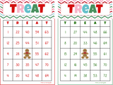 BINGO: Gingerbread Bingo Game - 30, 40 or 50 Different cards INSTANT DOWNLOAD - Holiday Bingo