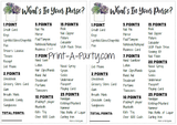 WHAT'S IN YOUR PURSE? - Bridal or Same Sex Wedding Shower Game - INSTANT DOWNLOAD