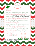ELF Printable Letter Notes Pack || Elf Welcome & Goodbye Letters | Blank Letters and Notes to promote or praise behavior - INSTANT DOWNLOAD
