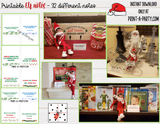 ELF NOTE KIT | Elf Notes | Christmas | Reminders for Christmas behavior - INSTANT DOWNLOAD - 32 different tent card notes