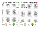 WORD SEARCH BUNDLE: Classroom | Teachers | 8 Pack: 1st Day, Fall, Math, Science, Holidays, Winter, Spring, Last Day