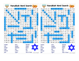 WORD SEARCH: Hanukkah - great for classrooms and parties or holiday gatherings!