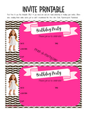 KIT: Birthday Party Kit (Games, Decor, Meal Plan, Treat Labels and more) - American Girl Doll Theme (36 pages) INSTANT DOWNLOAD Printable