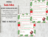 SANTA LETTER KIT | Christmas Letters | 2 Santa Letters | INSTANT DOWNLOAD
