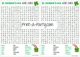 WORD SEARCH | St. Patrick's Day Word Search | Classroom Word Search | Party Word Search Printable - INSTANT DOWNLOAD