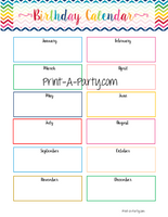 PLANNER: Teacher Planner | Gradebook | Binder Pages | Rainbow Chevron