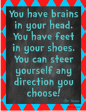 CLASSROOM DECOR | Dr. Seuss Quotes - Instant Art Word Art for Classroom