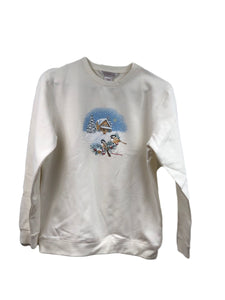Birds In Snow Tee