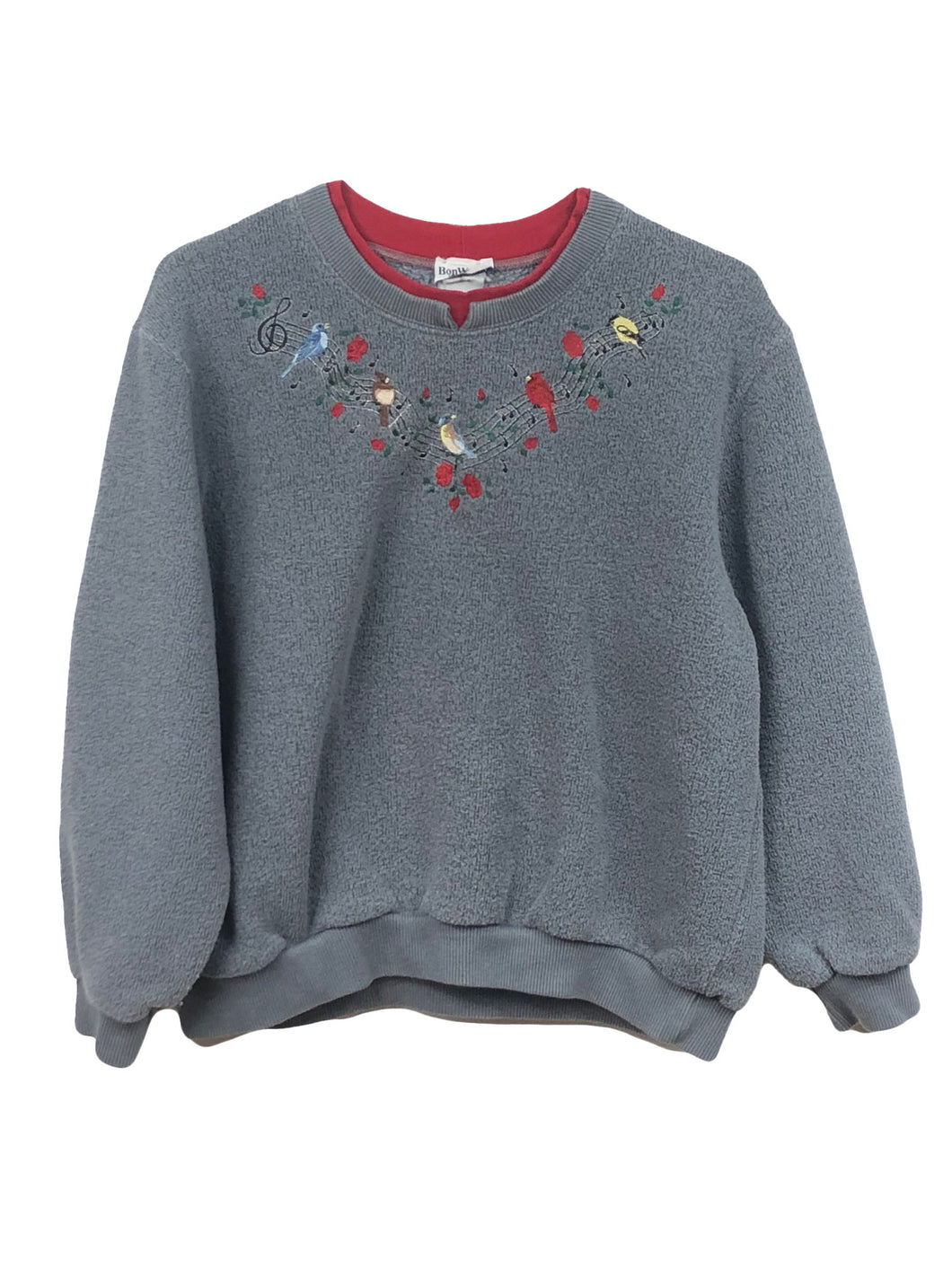 Song Bird Fleece Crewneck