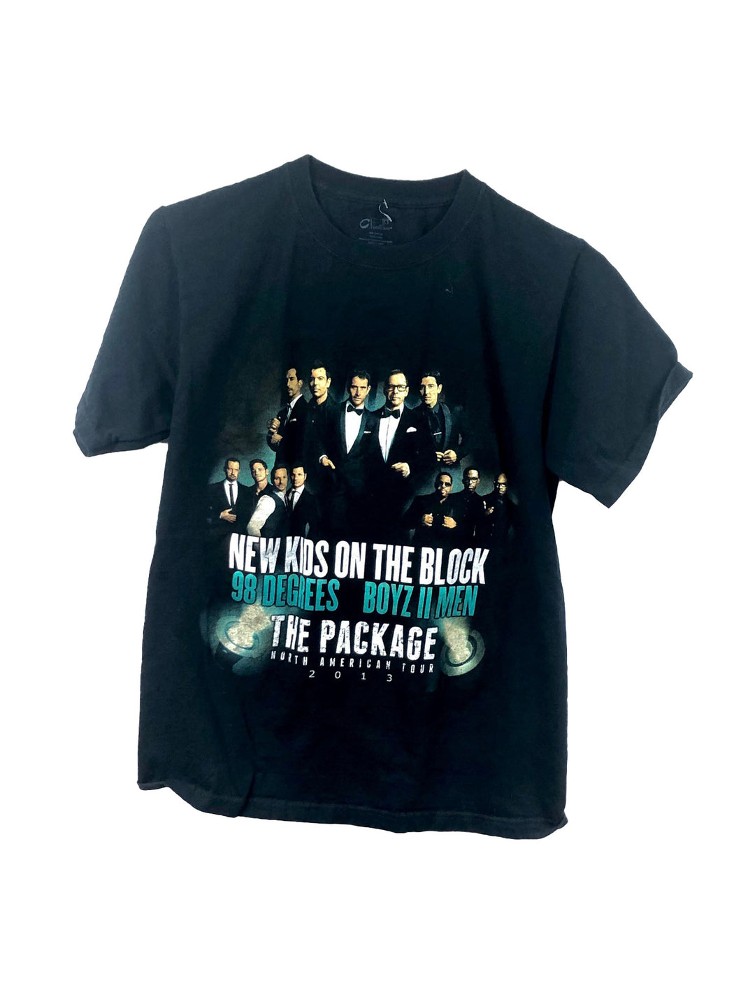 New Kids On The Block The Package Tour Tee