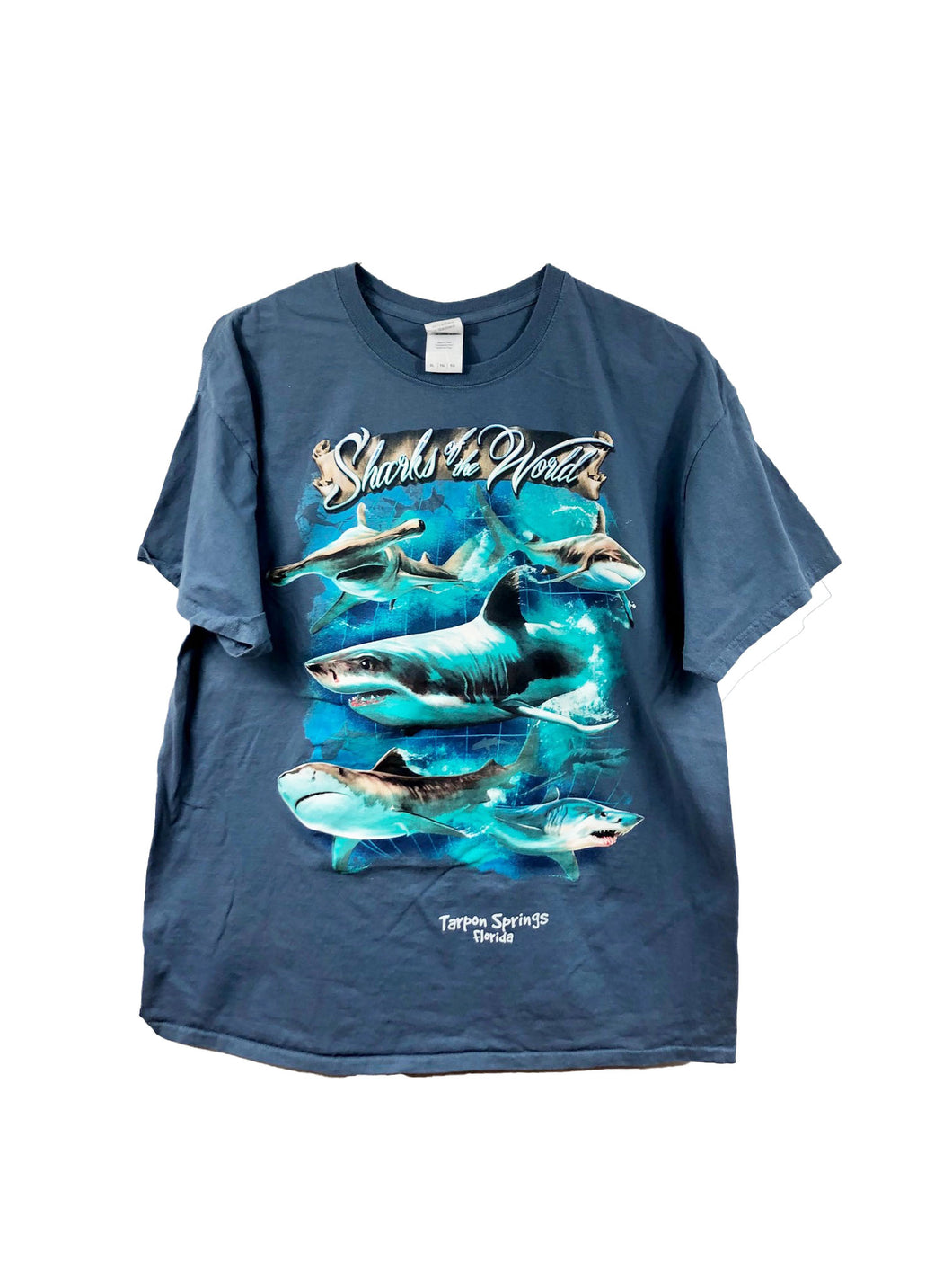 Sharks Of The World Tee