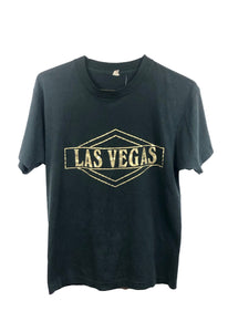 Single Stitch Vegas Dipped In Gold Tee