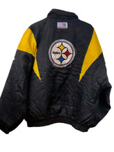 Load image into Gallery viewer, Steelers Zip-Up Puffer Jacket