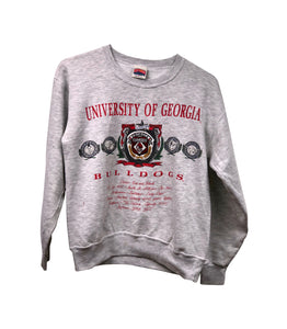 Made In The USA  Bulldogs Academic Crewneck
