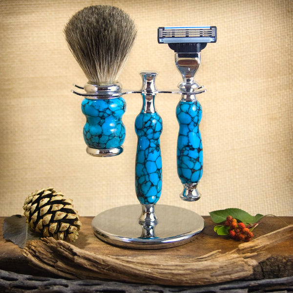 Shaving System - Turquoise