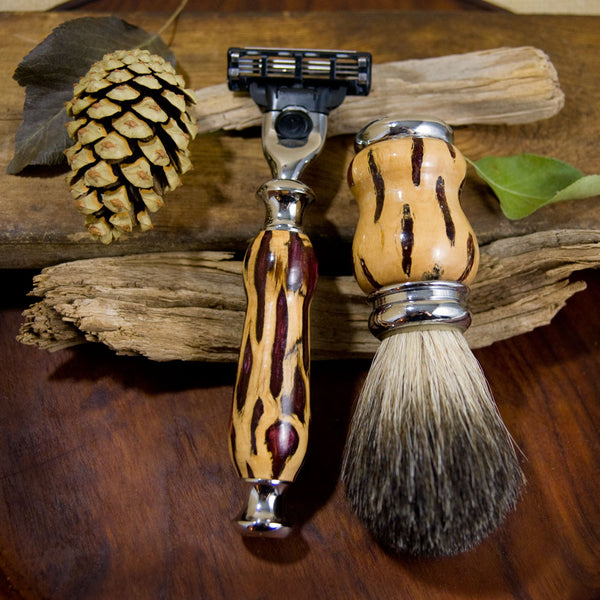 Shaving System - Cholla Cactus Brown Resin