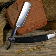 Straight Razor - Black Wood