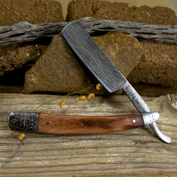 Straight Razor - Brown Bone